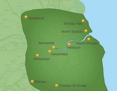 areas covered by miles ahead school of motoring